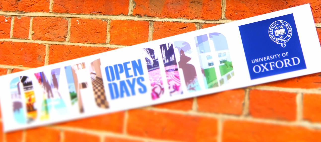 Open day sign